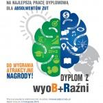 Plakat konkursu na pracę dyplomową