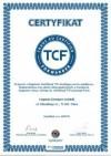 certyfikat TCF